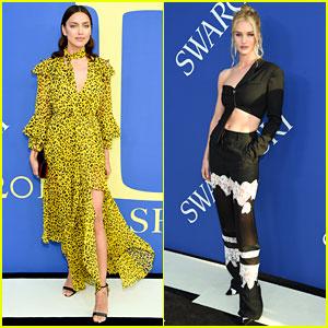 Irina Shayk & Rosie Huntington-Whiteley Are Gorgeous Mamas at CFDA Fashion Awards 2018!