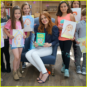 Isla Fisher Reads Newest 'Marge In Charge' Book to Kid Critics - Watch Comedic Clip!