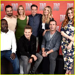 Isla Fisher, Jon Hamm, & Cast Mates Promote New Movie 'Tag'!