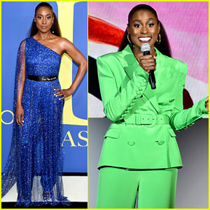 Issa Rae Wears the N-Word on Her Belt at CFDA Awards 2018