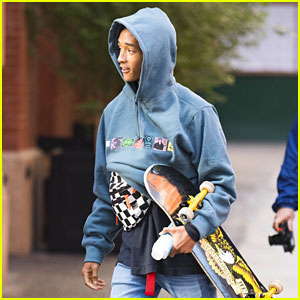 Jaden Smith Says Prom Was More Stressful Than the Met Gala!