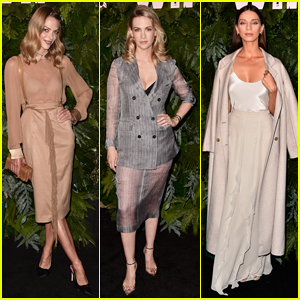Jaime King, January Jones, Angela Sarafyan & More Celebrate Max Mara's Face of the Future 2018!