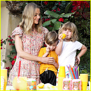 Jaime King's Kids Are So Adorable at Their Lemonade Stand!