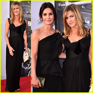Jennifer Aniston & Courteney Cox Attend AFI Tribute to Support George Clooney