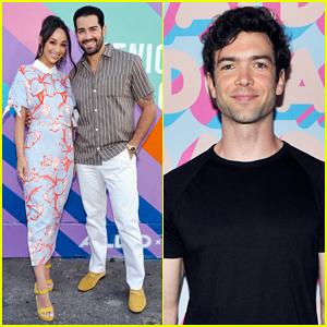 Jesse Metcalfe & Cara Santana Couple Up at Aldo Celebrates Summer in Venice Beach!