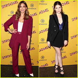 Jessica Alba, Anna Kendrick & More Celebrate Refinery29's 29Rooms San Francisco Opening!