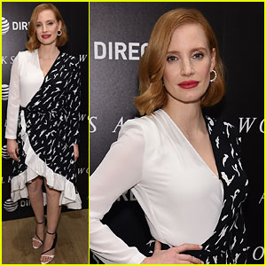 Jessica Chastain Screens New Movie 'Woman Walks Ahead' in NYC