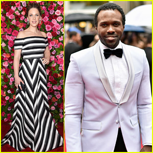 Carousel's Jessie Mueller & Joshua Henry Walk the Tony Awards 2018 Red Carpet