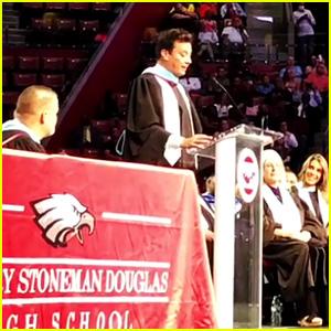 Jimmy Fallon Surprises Marjory Stoneman Douglas Class of 2018 at Graduation!