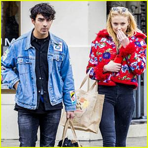 Joe Jonas & Sophie Turner Do Some Vintage Shopping in Bondi