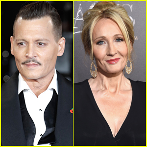 Johnny Depp Sues British Tabloid for Defamation Over Story Slamming Him & JK Rowling