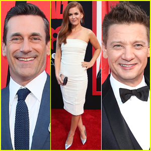 Jon Hamm, Isla Fisher, Jeremy Renner Premiere 'Tag' in Hollywood!