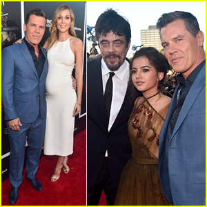 Josh Brolin is Joined by Pregnant Wife Kathryn Boyd at 'Sicario: Day of the Soldado' Premiere!