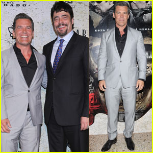Josh Brolin & Benicio Del Toro Premiere 'Sicario: Day of the Soldado' in Mexico