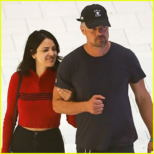 Josh Duhamel & Eiza Gonzalez Couple Up for Shopping at the Mall!