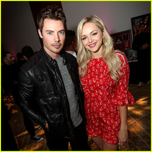 Josh Henderson & Girlfriend Oana Gregory Enjoy a Date Night at The Creux Automatiq Affair
