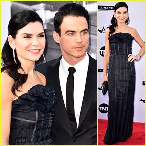 Julianna Margulies Supports 'ER' Co-Star George Clooney at AFI Tribute!