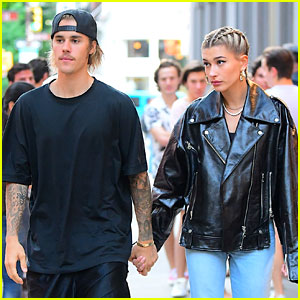 Justin Bieber & Hailey Baldwin Hold Hands After a Dinner Date!