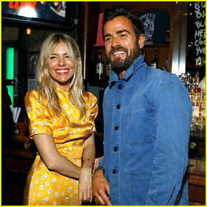 Justin Theroux & Sienna Miller Hang Out Again in New York!