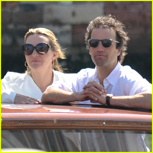 Kate Winslet Cozies Up to Husband Ned Rocknroll in Venice!