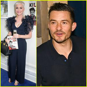 Katy Perry Supports Orlando Bloom at 'Killer Joe' Play in London!