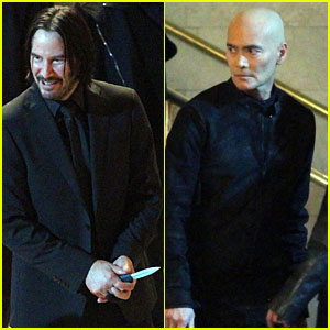 Keanu Reeves & Mark Dacascos Film 'John Wick 3' Action Scene in NYC's Grand Central Station!
