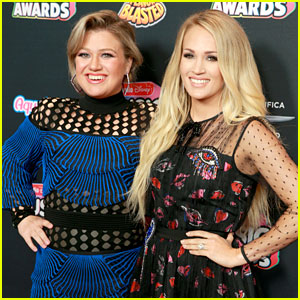 American Idol's Kelly Clarkson & Carrie Underwood Reunite at Radio Disney Music Awards 2018!