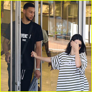 Kendall Jenner Goes Shopping with Rumored Beau Ben Simmons