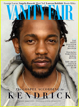 Kendrick Lamar Discusses National Anthem Protests & Kanye West's Views with 'Vanity Fair'