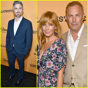 Kevin Costner Joins 'Yellowstone' Cast For Premiere in LA
