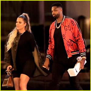 Khloe Kardashian & Tristan Thompson Enjoy a Steakhouse Dinner Together!