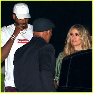 Khloe Kardashian & Tristan Thompson Enjoy a Night Out Together