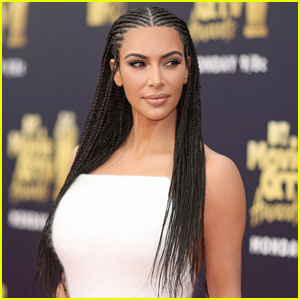 Kim Kardashian Responds to Backlash Over Her Braided Hair & North West's Straight Hair