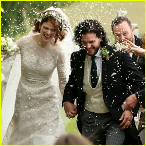Kit Harington & Rose Leslie Are Married - See Wedding Photos!