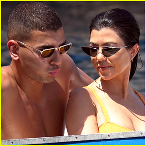 Kourtney Kardashian Looks Hot in a Bikini While on Italian Getaway With Boyfriend Younes Bendjima!