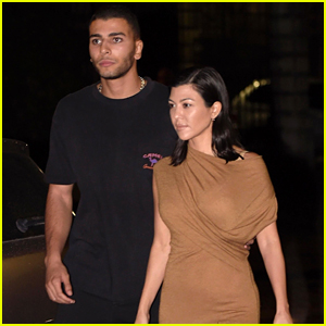 Kourtney Kardashian & Boyfriend Younes Bendjima Head Out for a Romantic Dinner in Rome!