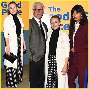 Kristen Bell Reunites with 'The Good Place' Cast at FYC Event!
