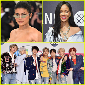 Kylie Jenner, BTS, & Rihanna Make Time's Most Influential People on Internet 2018 List!