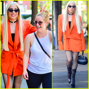 Lady Gaga Gets Silly With Her Assistant While Out in NYC