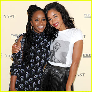 Laura Harrier & Aja Naomi King Talk Representation in Hollywood at Teen Vogue Summit