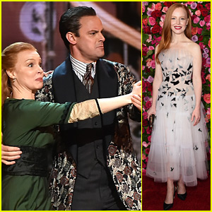 Lauren Ambrose & 'My Fair Lady' Cast Step Out as Nominees at Tony Awards 2018