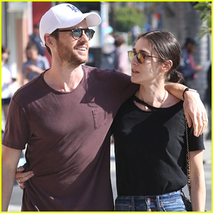 Lizzy Caplan Cozies Up to Husband Tom Riley in Beverly Hills!