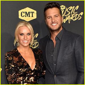 Luke Bryan & Wife Caroline Boyer Hit the Red Carpet at CMT Music Awards 2018!