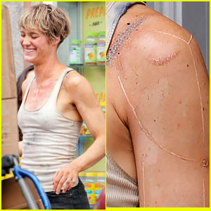 Mackenzie Davis on 'Terminator' Reboot Set - First Look Photos!