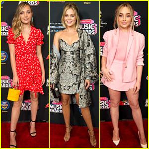 Maddie Ziegler, Olivia Holt, and Sabrina Carpenter Join Young Hollywood at Radio Disney Music Awards 2018!
