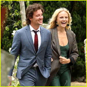 Malin Akerman & Boyfriend Jack Donnelly Attend Kit Harington & Rose Leslie's Wedding