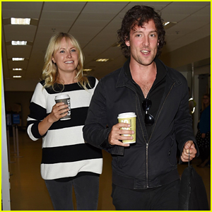 Malin Akerman & Jack Donnelly Arrive in Scotland Ahead of Kit Harington & Rose Leslie's Wedding!