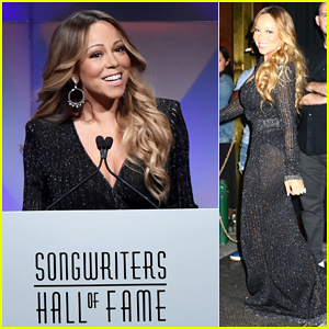 Mariah Carey Helps Induct Jermaine Dupri Into Songwriters Hall of Fame 2018!
