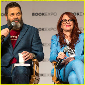 Megan Mulllally & Nick Offerman Preview Their Book Coming This Fall!