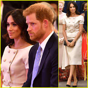 Duchess Meghan Markle Joins Prince Harry for Queen's Young Leaders Awards!